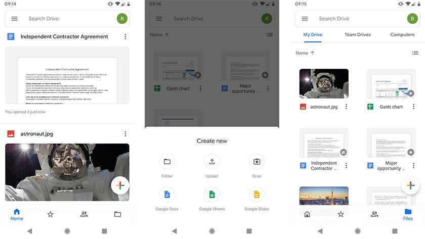 Google Drive является одним из лучших приложений для передачи файлов на ПК для Android