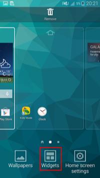 Как вернуть панель поиска Google на Android