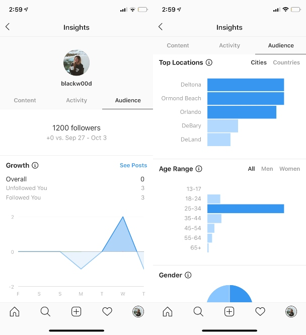 Instagram Insights: что они означают и как их использовать