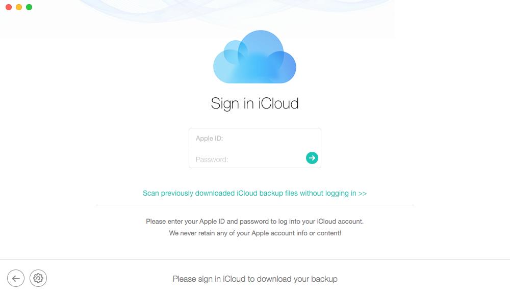 Как вернуть удаленные номера телефонов из iCloud - Шаг 3