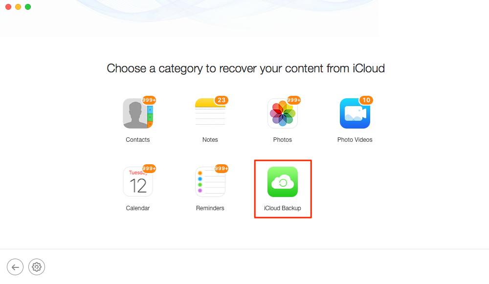 Как восстановить удаленные контакты iPhone из iCloud - Шаг 4