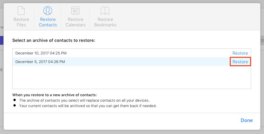 Как восстановить удаленные контакты из iCloud на iPhone
