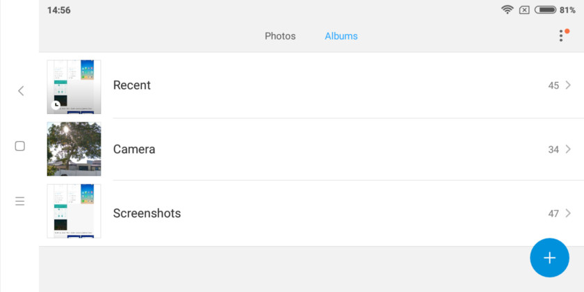 Папка со скриншотами в MIUI.