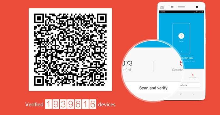 проверить продукт Xiaomi на jd.mi.com